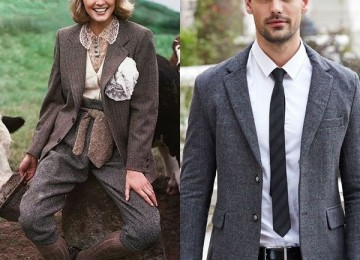 Женские и мужские шерстяные пиджаки: модные модели 2018 года