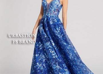 Вечернее длинное платье на Новый 2020 год