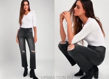 Рваные джинсы 2019 года снова в моде