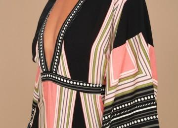 Платье кимоно: универсальный крой захлестнувший европейскую моду