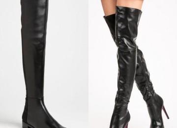 Ботфорты из кожи: женская обувь на осень и зиму 2019 года