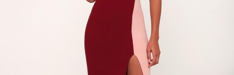 Платье с запахом: модели на запах 2019 года