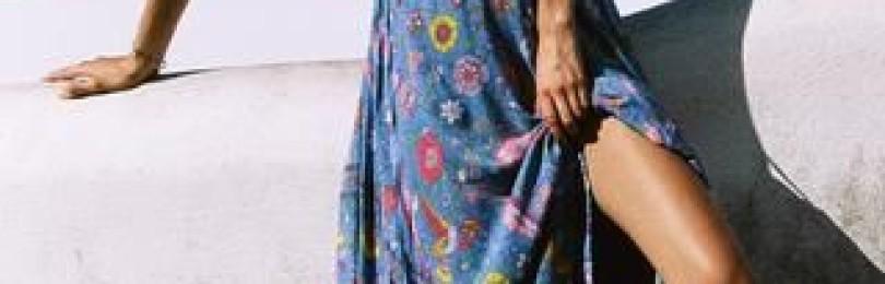 Платья в стиле бохо: чувственность природы в этнических нарядах