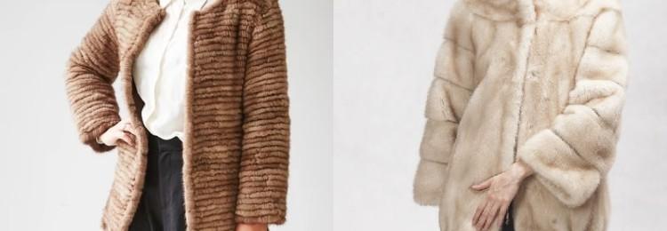 Шуба из дикой норки: отличия от обычных моделей