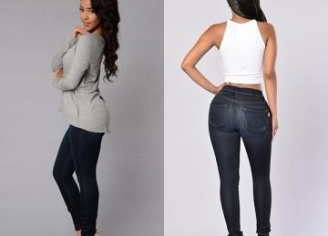 Джеггинсы — обзор новых брюк для женщин