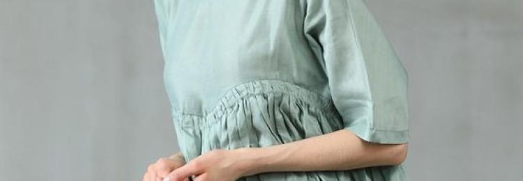 Льняное платье 2019: модные модели сарафанов изо льна