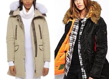 Настоящие куртки аляски на зиму 2019 года