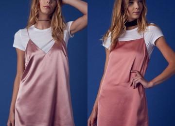 Платье комбинация «ночнушка» — тренд всего десятилетия