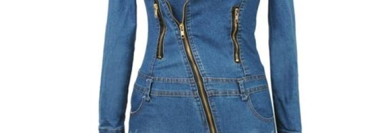 Джинсовое платье и сарафан: модели из джинсы и денима на 2019 год