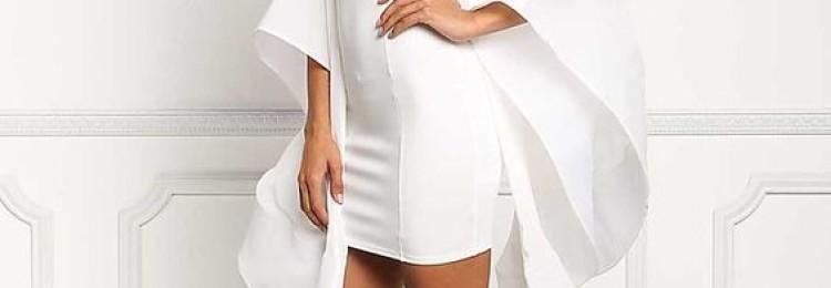 Белое платье на Новый 2020 год