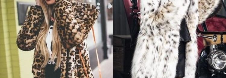 Элитные и искусственные шубы из леопарда: гайд по моде