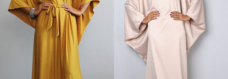 Платье «летучая мышь» для модниц