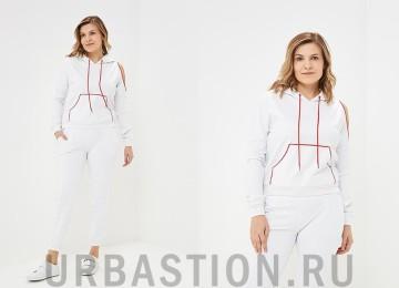 Женский белый костюм: модели 2019 года