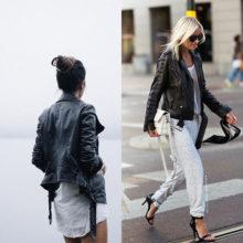 На фото модные куртки косули для женщин