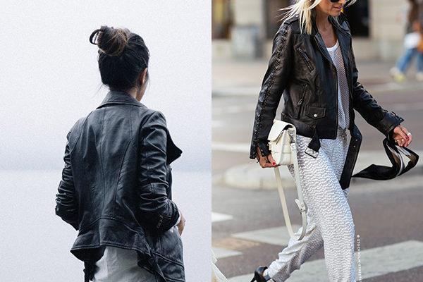 Модные в 2018 году женские куртки косухи и их фото