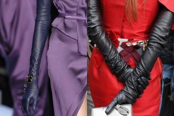 Длинные перчатки 2018 года: модные варианты исполнения