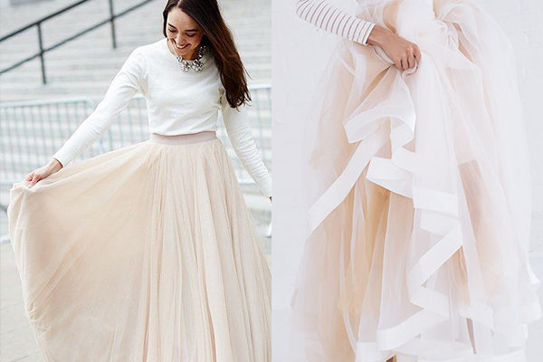 Длинные юбки 2019 года: очарование популярных моделей