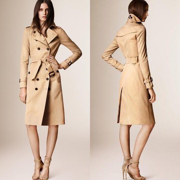 Женское классическое пальто и тренч: разница между двумя стильными трендами 2019 года