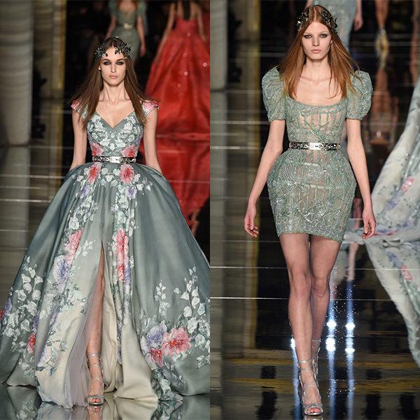 Показ моды 2019 года Zuhair Murad: платья и вечерние наряды на фото