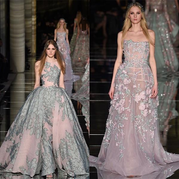 Показы мод 2016 платья