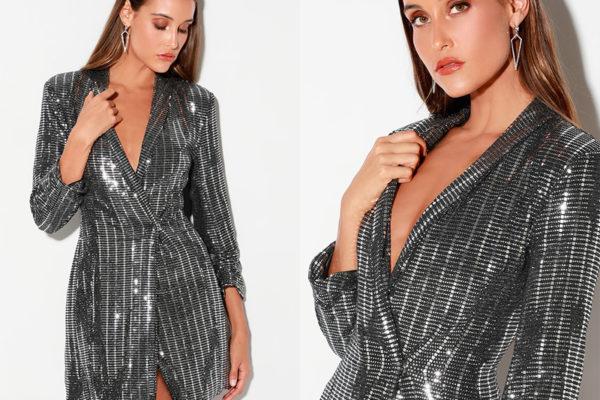 Серый пиджак: что предлагают стилисты в 2019 году