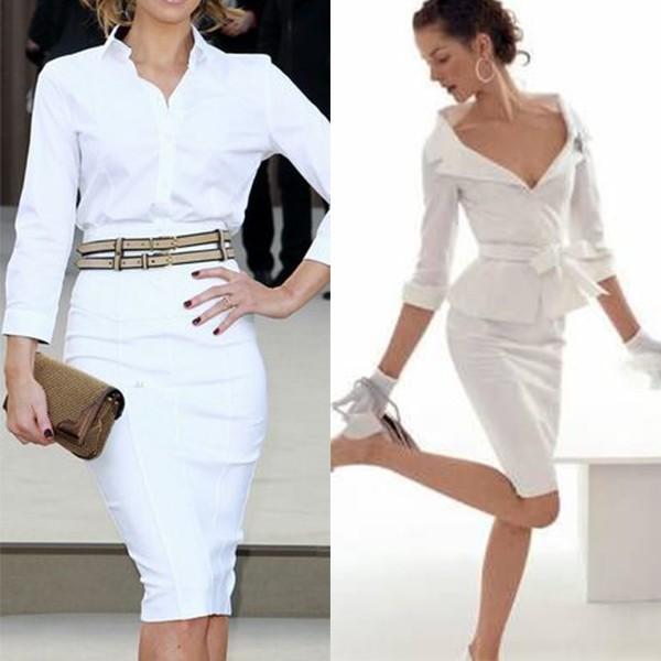 Красивые белые юбки фото