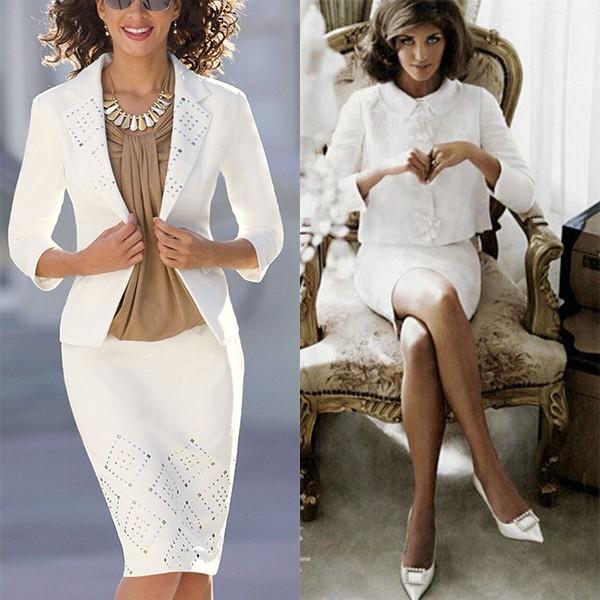Женские деловые офисные костюмы