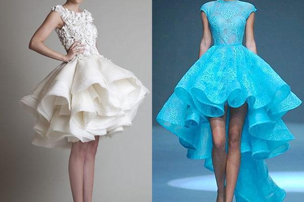 Самые красивые короткие платья на выпускной 2020