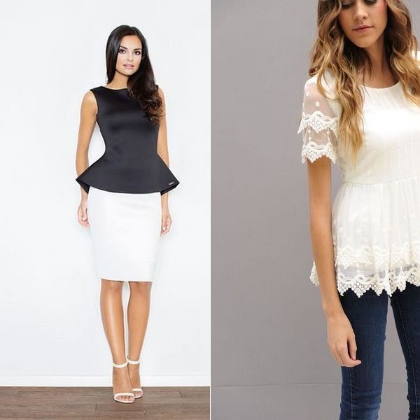 Белые блузки 2017 года