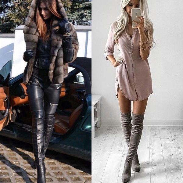 Ботильоны и кожаные куртки