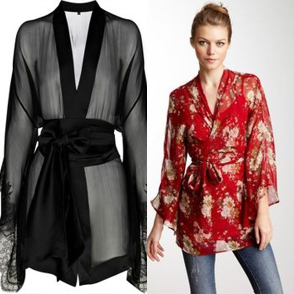 Блузка В Стиле Кимоно