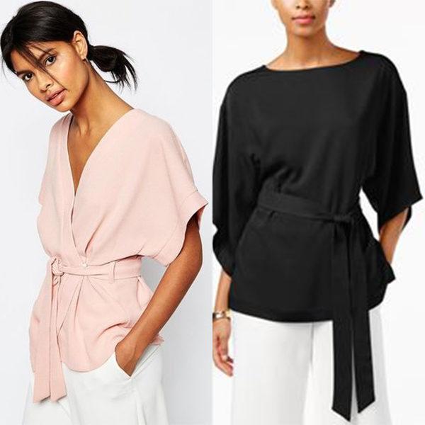 Модные блузки кимоно: оригинальные изделия в японском стиле