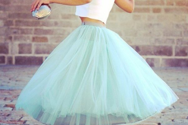 Шьем юбку-пачку из фатина и других материалов своими руками
