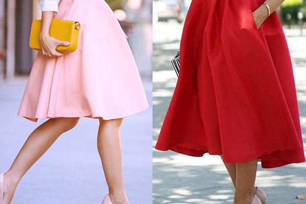 Модная модель женской юбки «татьянка» на 2018 год: лучшие изделия на фото