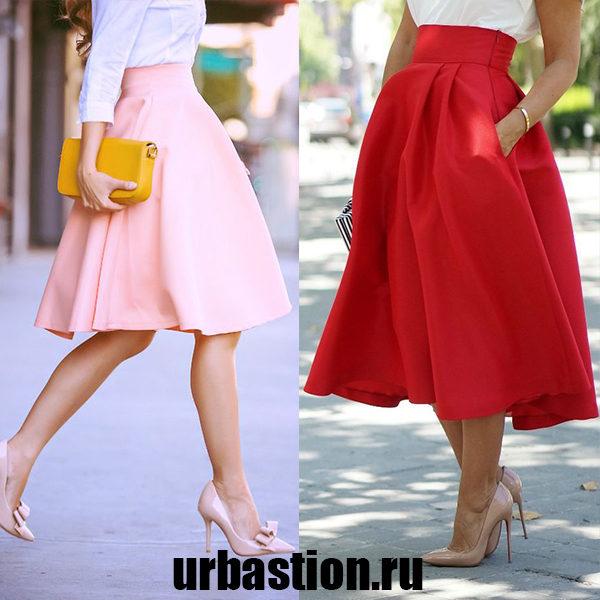 Женская юбка-татьянка на 2019 год: модели