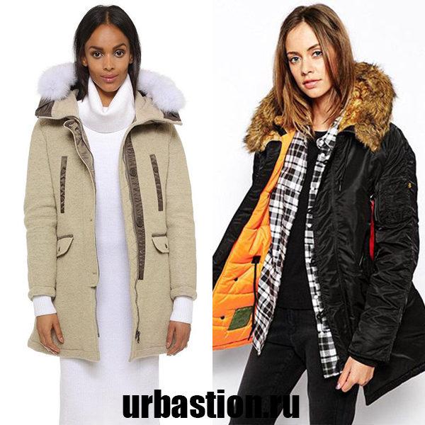 Модные женские куртки Аляски на зиму 2018: интересные и красивые модели