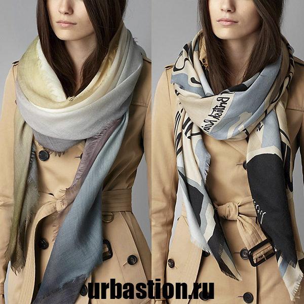Стильный и модный шарф: какой он?