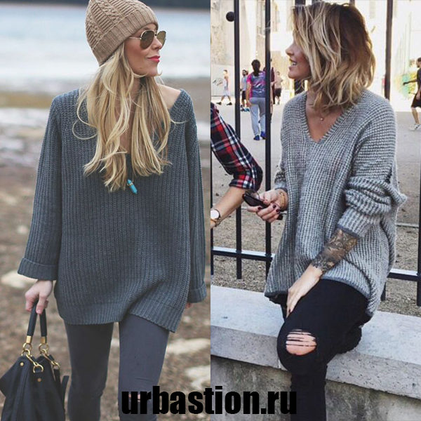 Женские повседневные пуловеры на 2018 год: интересные и стильные изделия