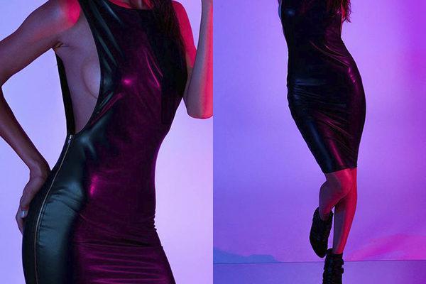 Кожаные женские платья: главный стильный тренд 2018 года