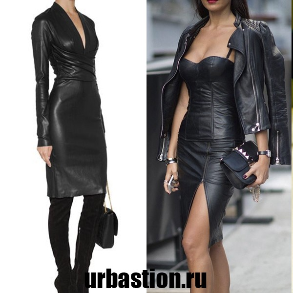 leatherdresswoman6