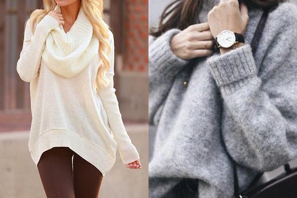 Свитеры 2018 года: теплые женские новинки осени и зимы
