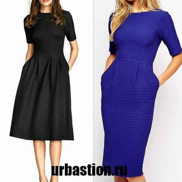 модели деловых платьев фото