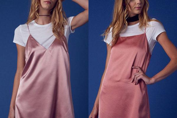Платье комбинация «ночнушка» — главные тренд 2018 года и всего десятилетия