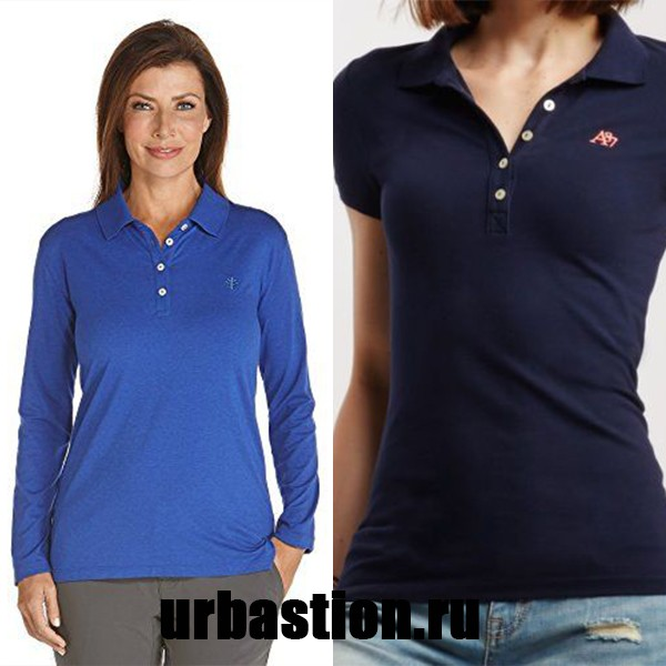 5a94d43ea713f Женские рубашки и футболки поло: модели от дизайнерских домов на ...