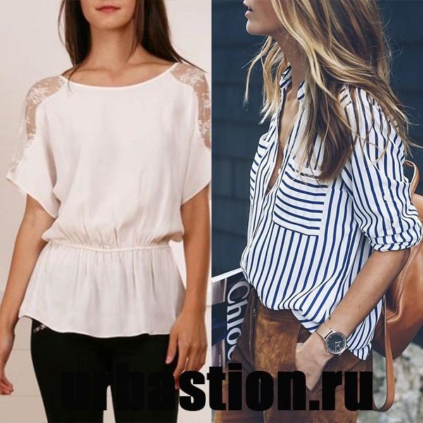 4fd3cfc78e0 Блузка с коротким рукавом  фото