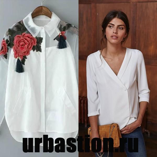 Фасон блузок для полных женщин
