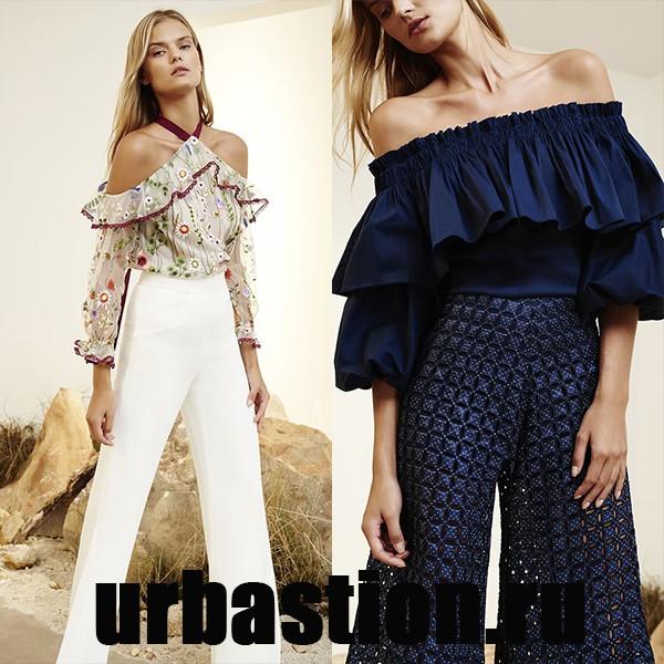 Мода 2017 Год Блузки