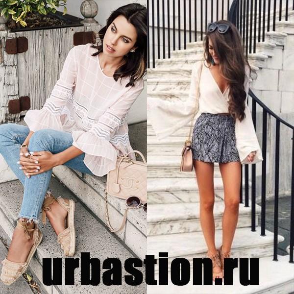 4e386e17dfa Новинки летних женских блузок на 2018 год  фото моделей и фасонов ...