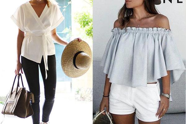 Новинки летних женских блузок на 2018 год: фото моделей и фасонов для образов