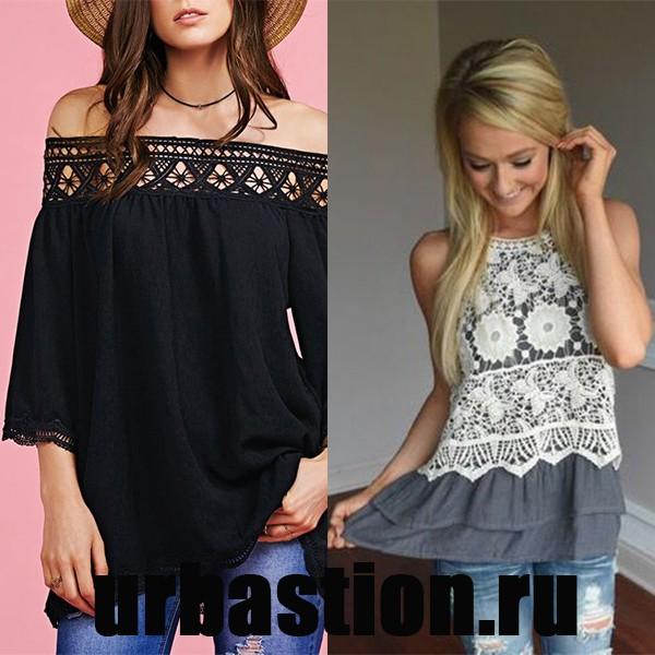 Блузки модные для девушек